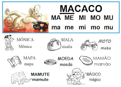 Lista de palavras que têm MA - ME - MI - MO - MU