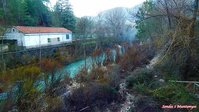 Piscifactoría, río Borosa, Pontones, Sierra de Cazorla, Jaén, Andalucía