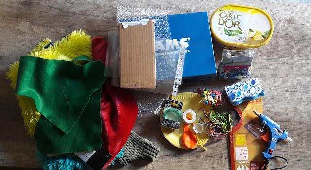 matériel tutoriel diy fabriquer boite à toucher éveil enfant bas âge montessori
