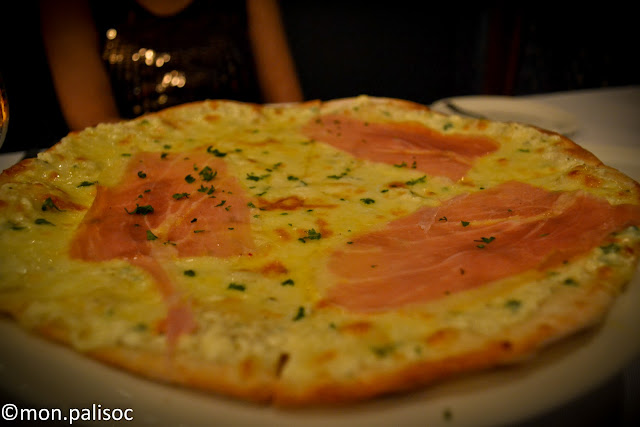Pizza Bianca from Casa Nostra