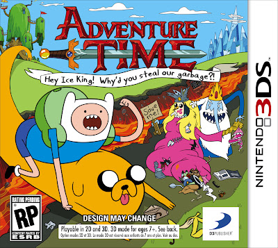 Adventure Time 3DS Boxart