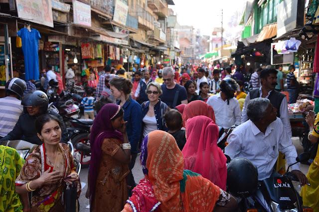 Balade dans la foule à Jodhpur