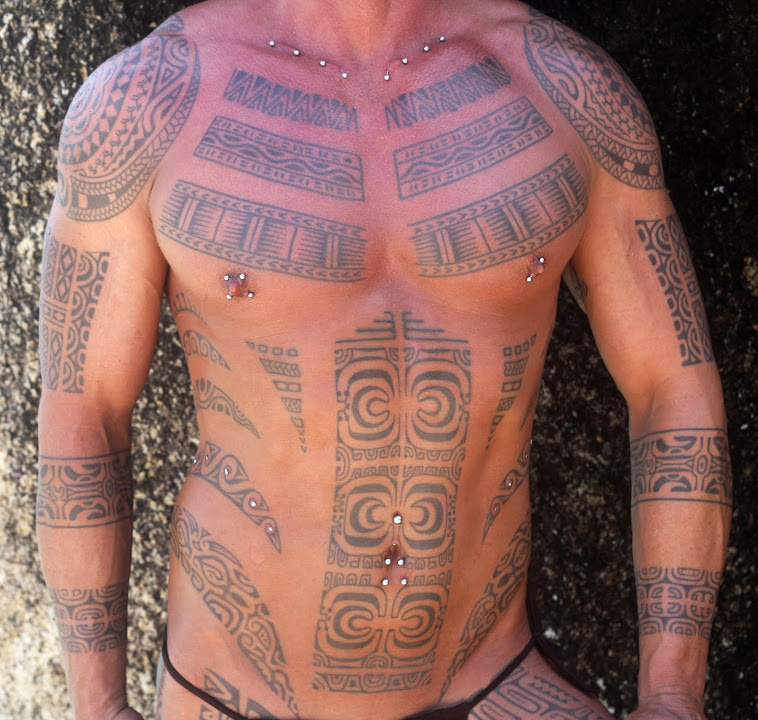 Maori Full Body Tattoo For Men: Maori/polynesian Style Tattoos