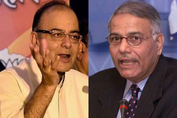 arun-jaitley-strong-reply-to-yashwant-sinha-on-economy-slow-sown