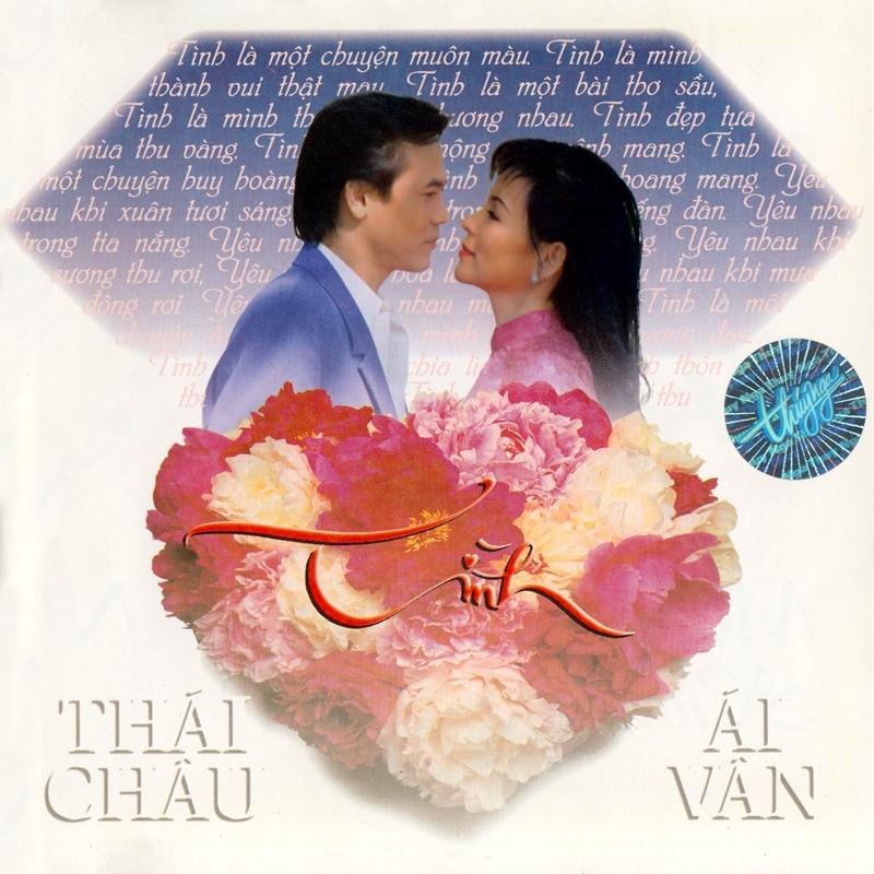 Thúy Nga CD140 - Thái Châu, Ái Vân - Tình (NRG) + bìa scan mới