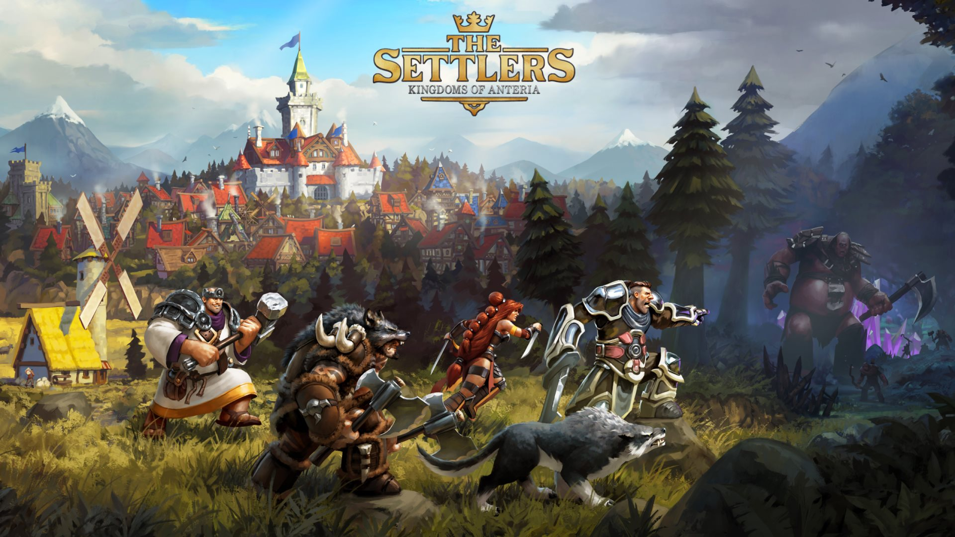 the settlers kingdoms of anteria wallpapers - The Settlers Kingdoms of Anteria Wallpapers HD Wallpapers