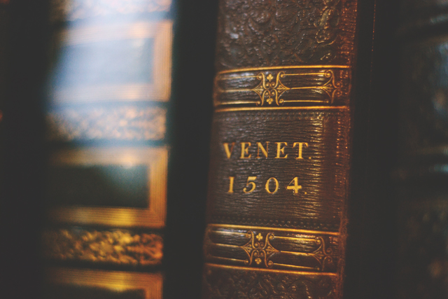 Venet 1504 book John Rylands library