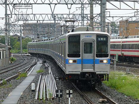 あと30日で消滅が確定した種別なし表示の東武野田線 七光台行き10030系