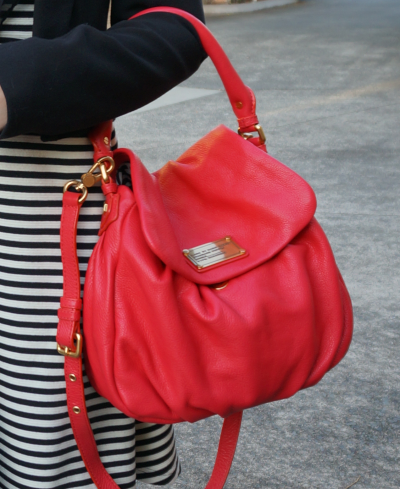 Marc by Marc Jacobs Little Ukita bag in Rock Lobster - reddish pink
