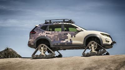 Nissan X-Trail Dimodifikasi Seperti Tank, Tampilannya Seperti Apa?