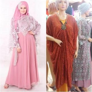 Model Baju Kalong Muslim Bahan Sifon Dan Bahan Lainnya