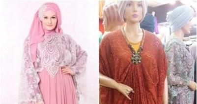 Model Gamis Brokat Lengan Kelelawar Baju Gamis Dan Baju Muslim Model Terbaru Dan Update Terkini