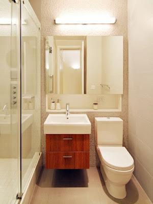 แบบห้องน้ำและชักโครกขนาดเล็ก