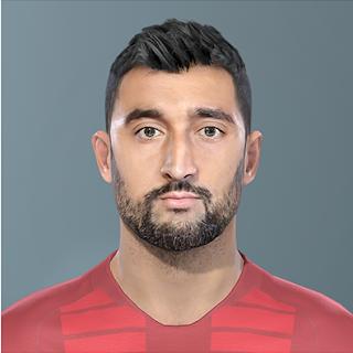 PES 2019 Faces Aleksandr Samedov by Maratik182
