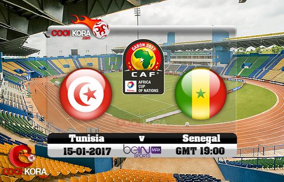مشاهدة مباراة تونس والسنغال اليوم كأس أمم أفريقيا 15-1-2017 علي بي أن ماكس