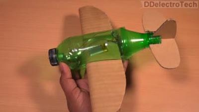 Mudah Cara Membuat Pesawat dari Botol Bekas yang Bisa Terbang