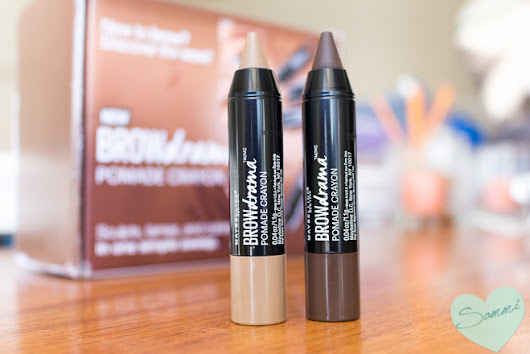 Swatches & Review: Maybelline Eyestudio Brow Drama Pomade Crayon
