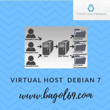 Cara Membuat Virtual Host Apache di Linux debian