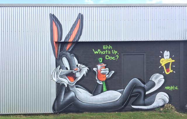Graffiti Bugs Bunny