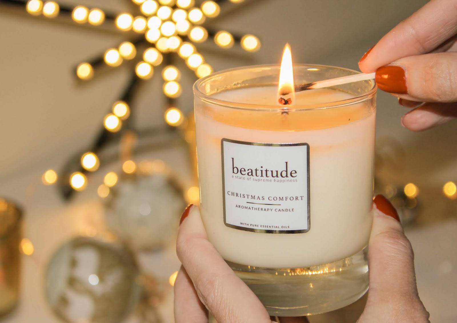 Christmas Comfort Candle from Beatitude Products