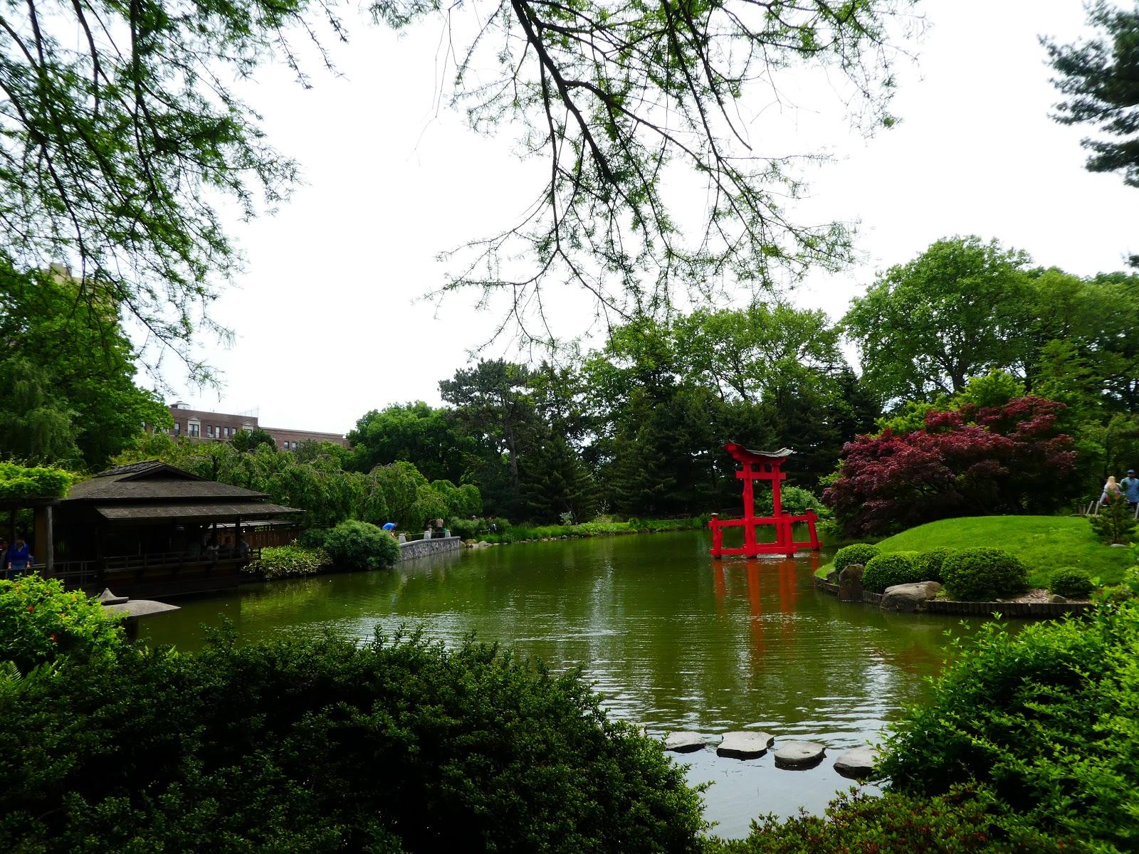 Cuaderno de viajes new york el jard n bot nico de brooklyn - Jardin japones pequeno ...