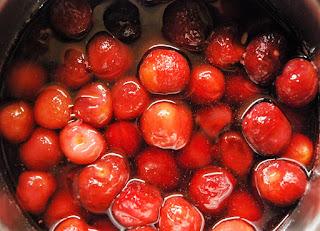 Compote de cerises