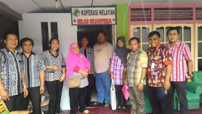 Tim dari BPK RI saat foto bersama.