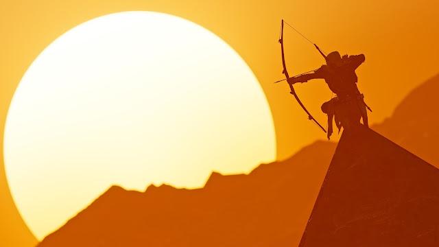Papel de parede grátis Assassins Creed Origins Bayek Of Siwa para PC, Notebook, iPhone, Android e Tablet.