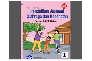 Buku PJOK Kelas 1 SD MI