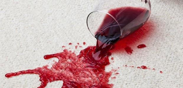 como retirar mancha de vinho