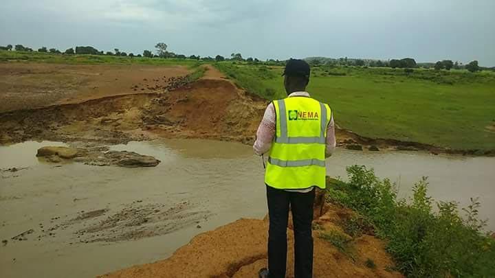 Photos of farmland destroyed by flood in Katsina