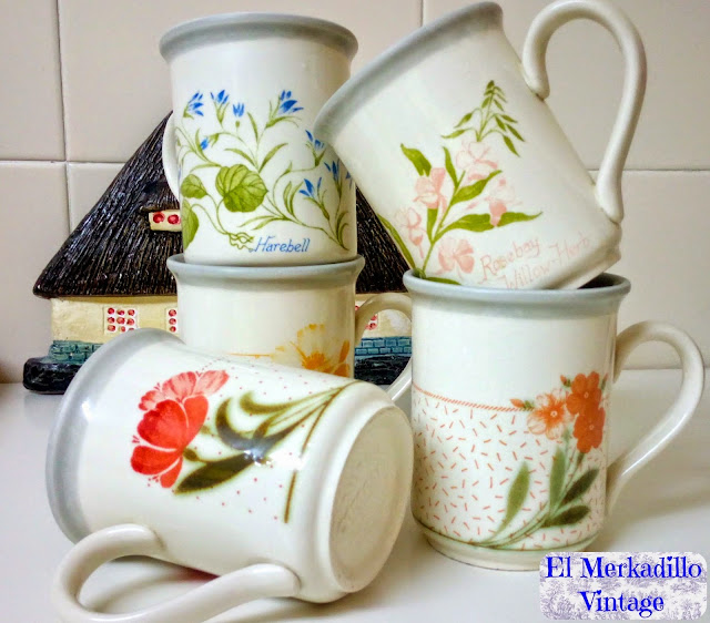 Tazas desayuno mug porcelana inglesa ref 5414 el for Tazas de te estilo vintage
