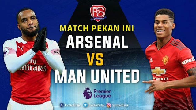 Live Streaming Liga Inggris di RCTI, Arsenal Vs Manchester United Pukul 23.30 WIB