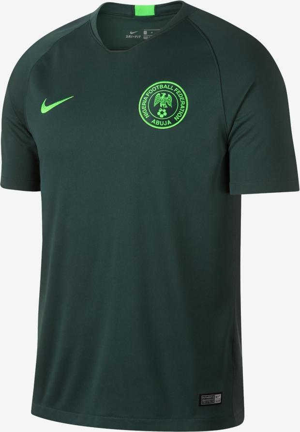 Nike lança a camisa reserva do Nigéria para a Copa do Mundo - Show ... 3945023b29265