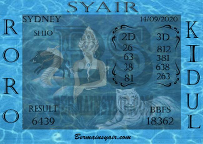 Kode syair Sydney Senin 14 September 2020 266