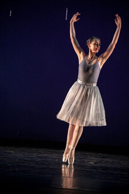 usf, fall dance concert, lauren banawa, ballet costumes, silver fairy, sleeping beauty