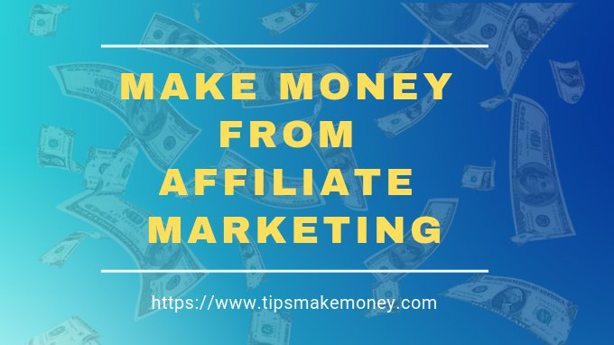 How to Easily Make Money From Affiliate Marketing