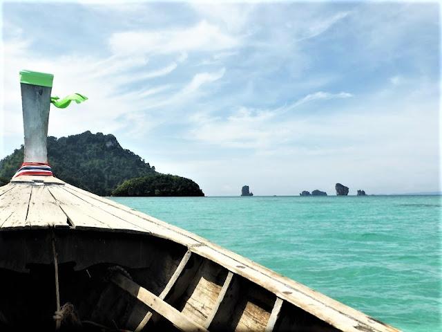 Longtail en Tailandia