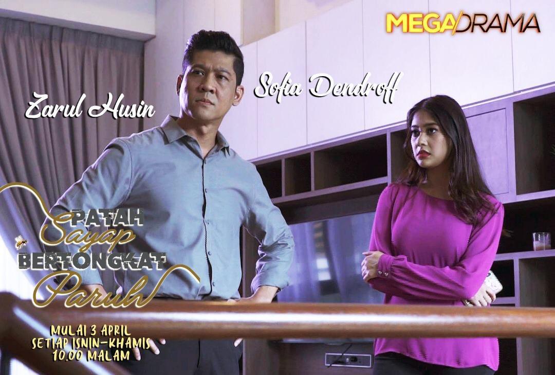 Miss Banu Story Sinopsis Drama Patah Sayap Bertongkat Paruh Astro Ria