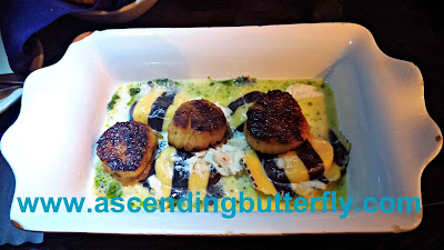 Lobster Ravioli with Blackened Sea Scallops, High Street Caffe & Vudu Lounge