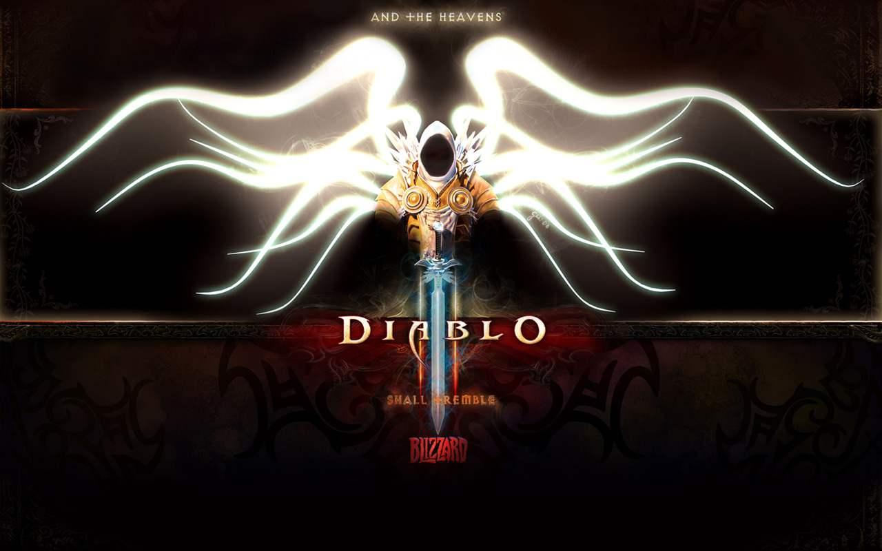 Diablo 3 Wallpaper Art Poster