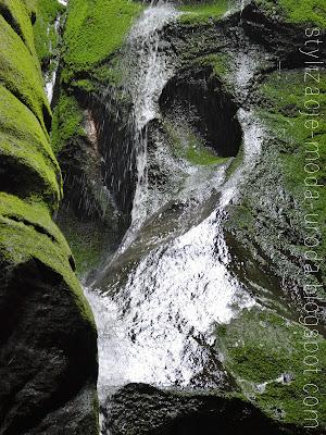 naturalny wodospad polska