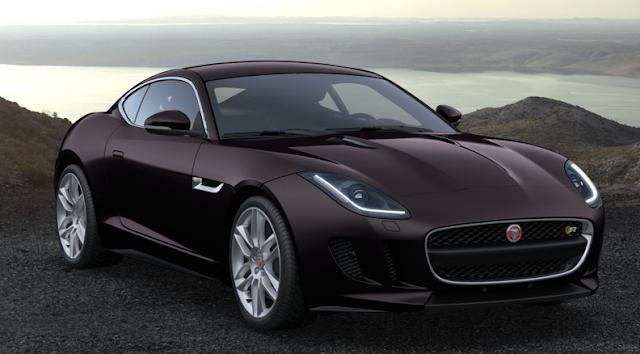 Jaguar F Type Coup 233 2016 Couleurs Colors