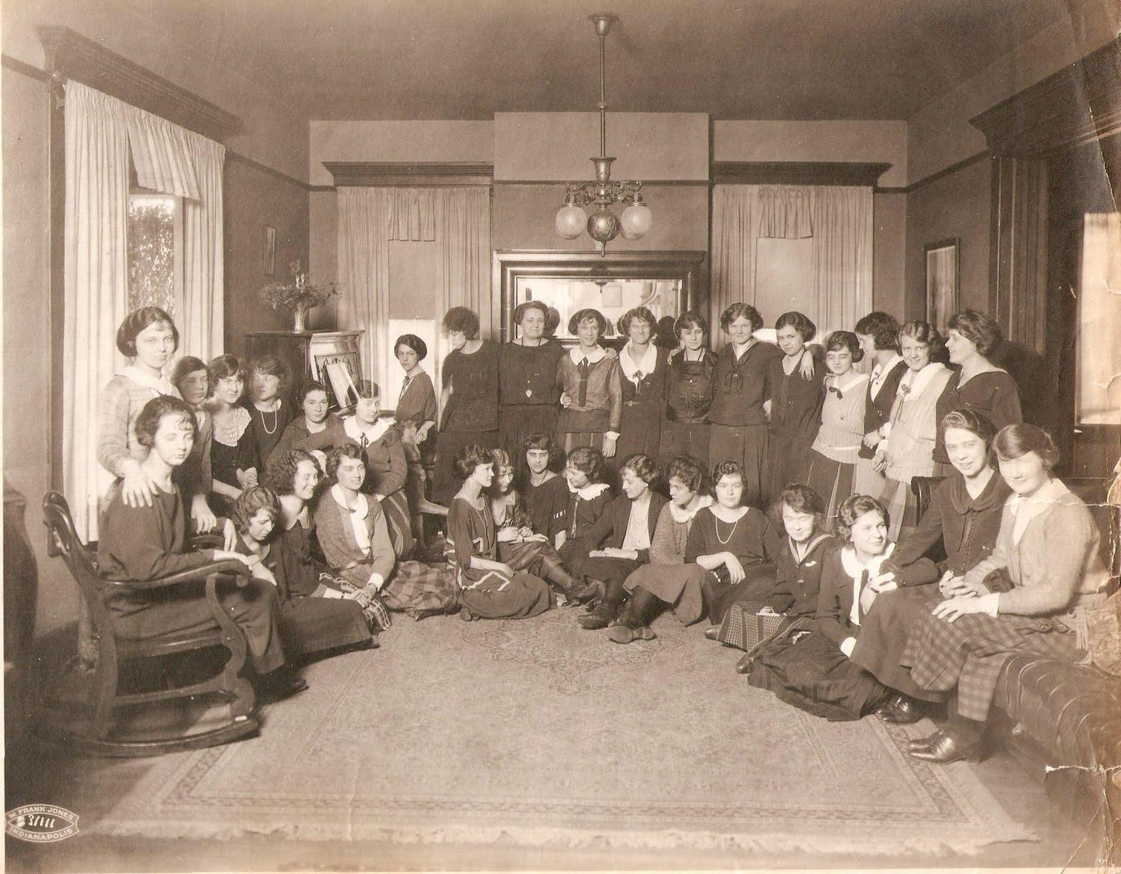 Vintage Irvington Kappa Kappa Gamma Sorority 5432