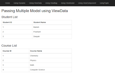 multiplemodel-asp-mvc