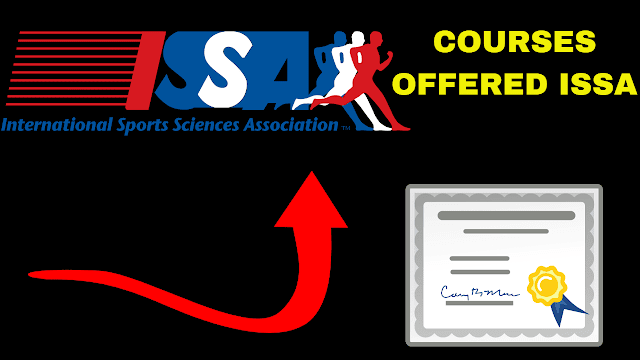 Issa fitness organization for personal training and nutrition and sports nutrition courses
