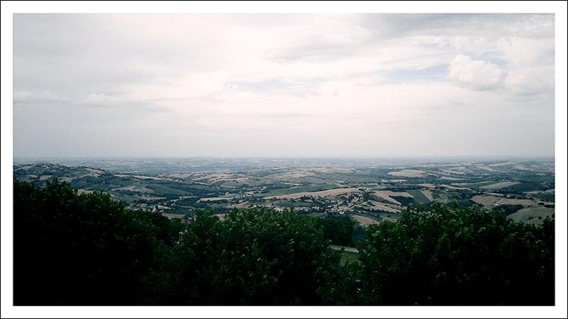 Panorama da Cingoli, il balcone delle Marche