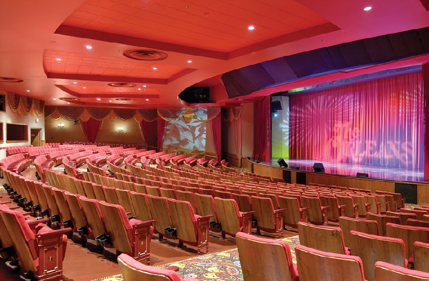 Orleans Showroom em Las Vegas