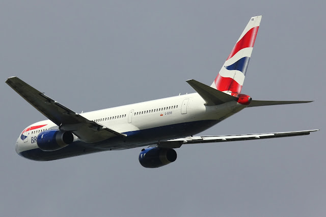 Boeing 767-300 of British Airways