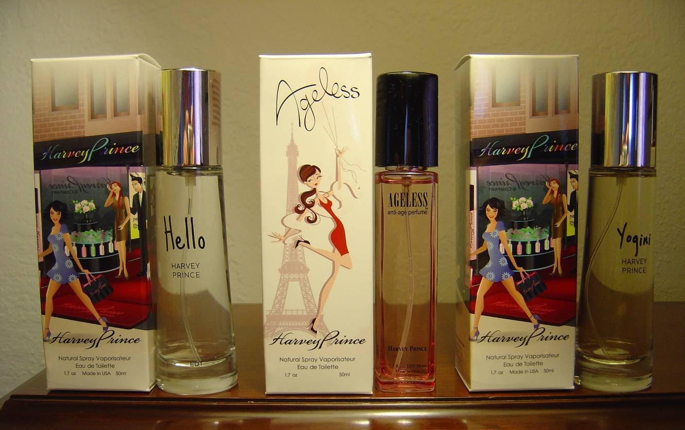 Harvey Prince Hello, Ageless and Yogini fragrances.jpeg